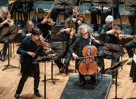Joshua Bell, violin and Steven Isserlis, cello